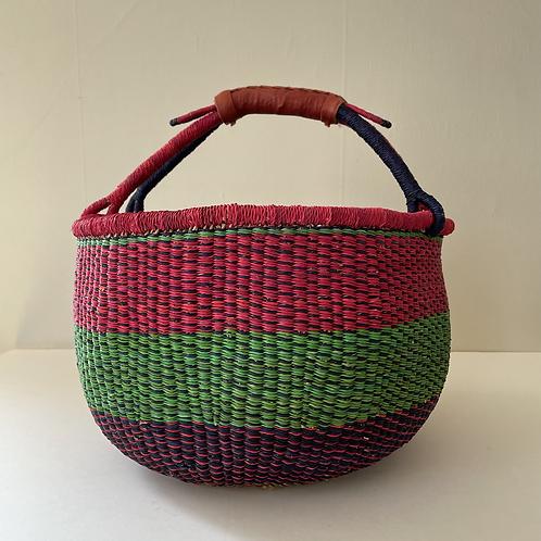African Market Basket - Large Round #118