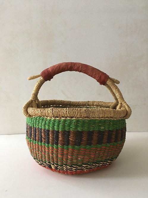 African Market Basket  - Small Round #300
