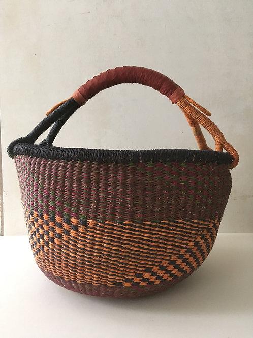 African Market Basket  - Large #114