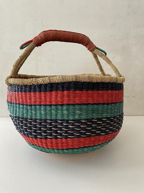 African Market Basket  -  Large Round #119