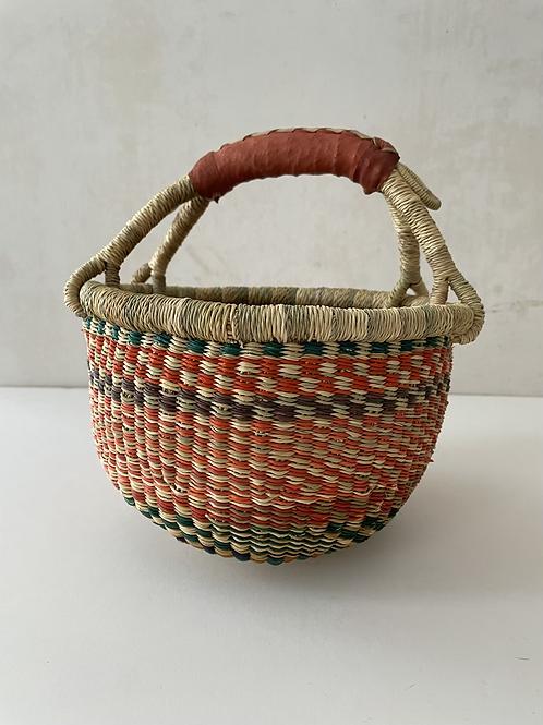 African Market Basket  - Small Round #303