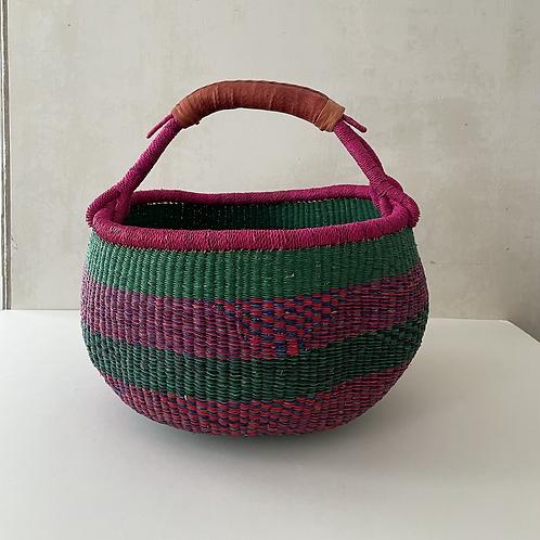 African Market Basket  -  Large Round #116