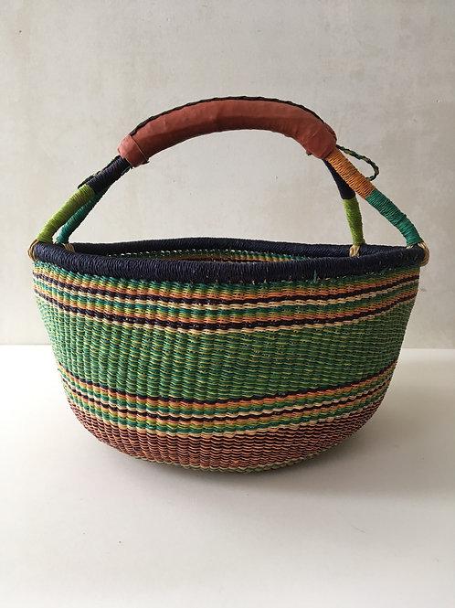 African Market Basket  - Large Round #105