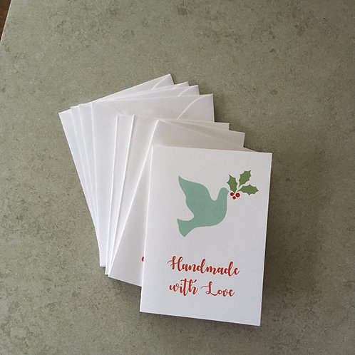 Gift Card Set - Peace Dove