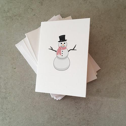 Snowman Gift Card Set