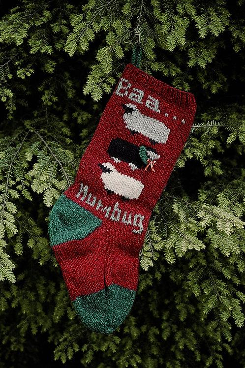 Baa Humbug Stocking