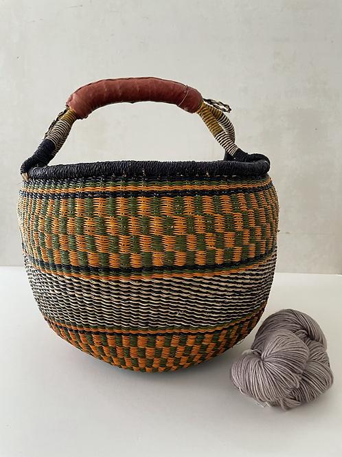 African Market Basket  - Large #121