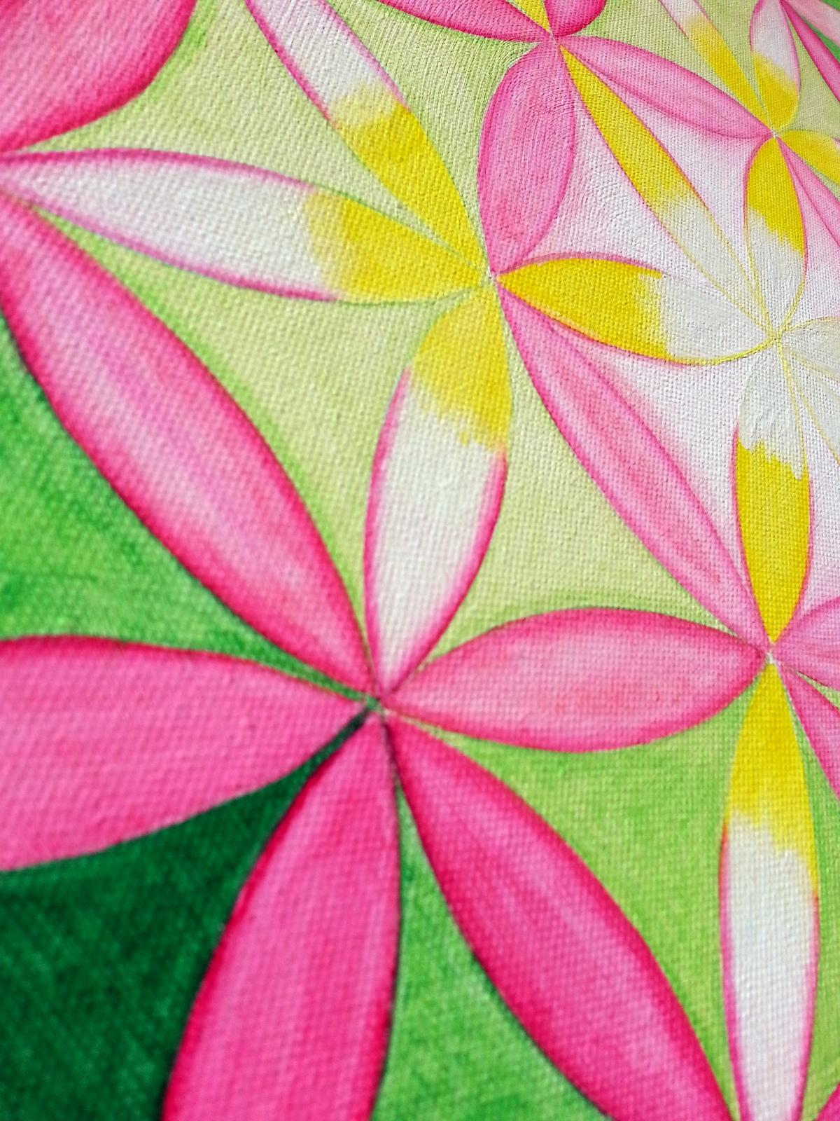 Blume des Lebens von Sonja Peinl