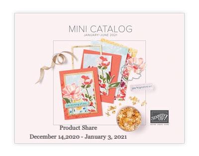 January-June Mini Catalog Product Share