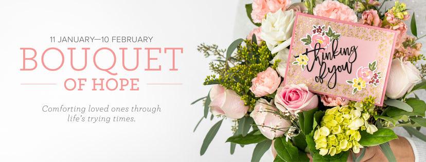 Bouquet of Hope February's Paper Pumpkin Kit