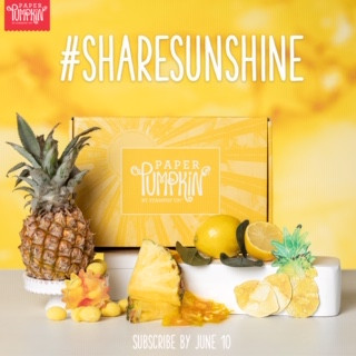 Share Sunshine with the June Paper Pumpkin Kit