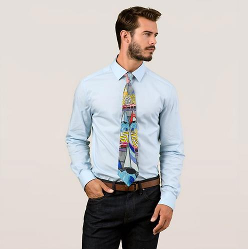 TBAY SAILING Printed Tie