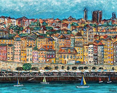 "Porto, Portugal #2 Print  18x24"""