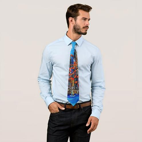 PORTO, PORTUGAL Printed Tie