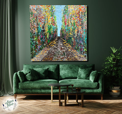 Autumn Serenade Original Painting by Caterina Tolone