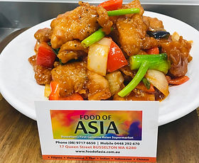 Sweet and Sour Pork by Busselton Food Of Asia