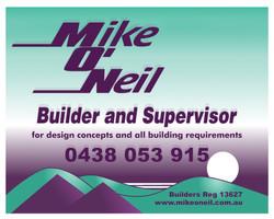 Mike O'neil Builder and Supervisor