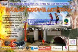 poster Bardimia gathering final