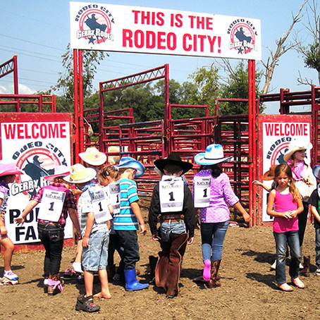 FREE KIDS' RODEO KICKS OFF FINAL DAY OF GERRY RODEO