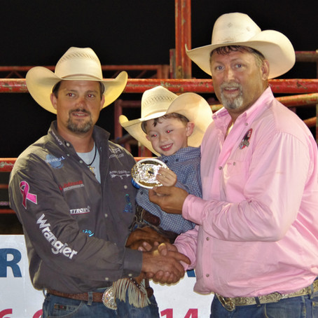GERRY RODEO WRAPS UP