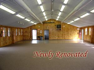 indoor hall