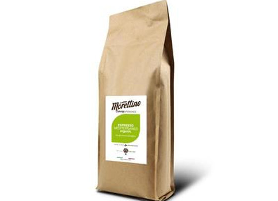 ORGANIC MEDITERRANEO BEANS 500g whole coffee beans pack