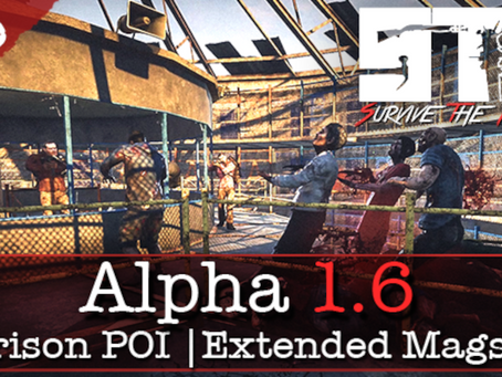 Dec 12th - Patch Notes - Alpha 1.6 (Black Ridge Prison | Bitterhold | QoL ++)