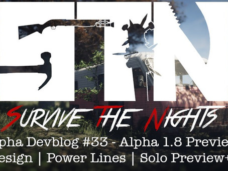 Alpha Devblog #33 - Alpha 1.8 Preview (Design | Power Lines | Solo Preview++)