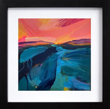 Turquoise sea (SOLD)