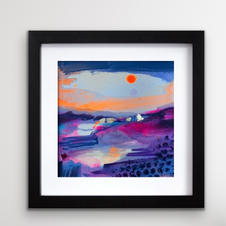 low winter sun frame (SOLD)