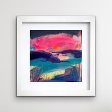 Pink Pentland sky (sold)