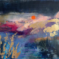 THE SILENCE OF DUSK.(SOLD)