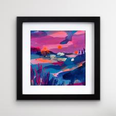 Purple Pentland sky 3 (SOLD)