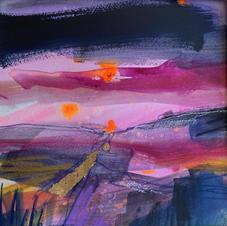 Purple Pentland sky (SOLD)