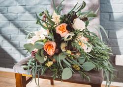 Bridal Bouquet with David Austin Juliet