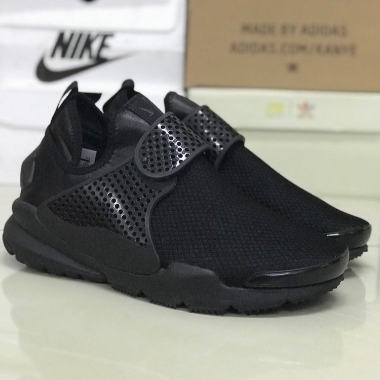 new arrival 245e0 c075c NIKE SOCK DART ALL BLACK