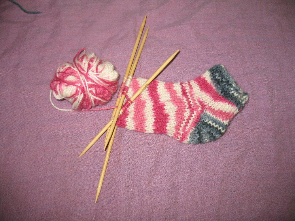 גרביים בחמש מסרגות