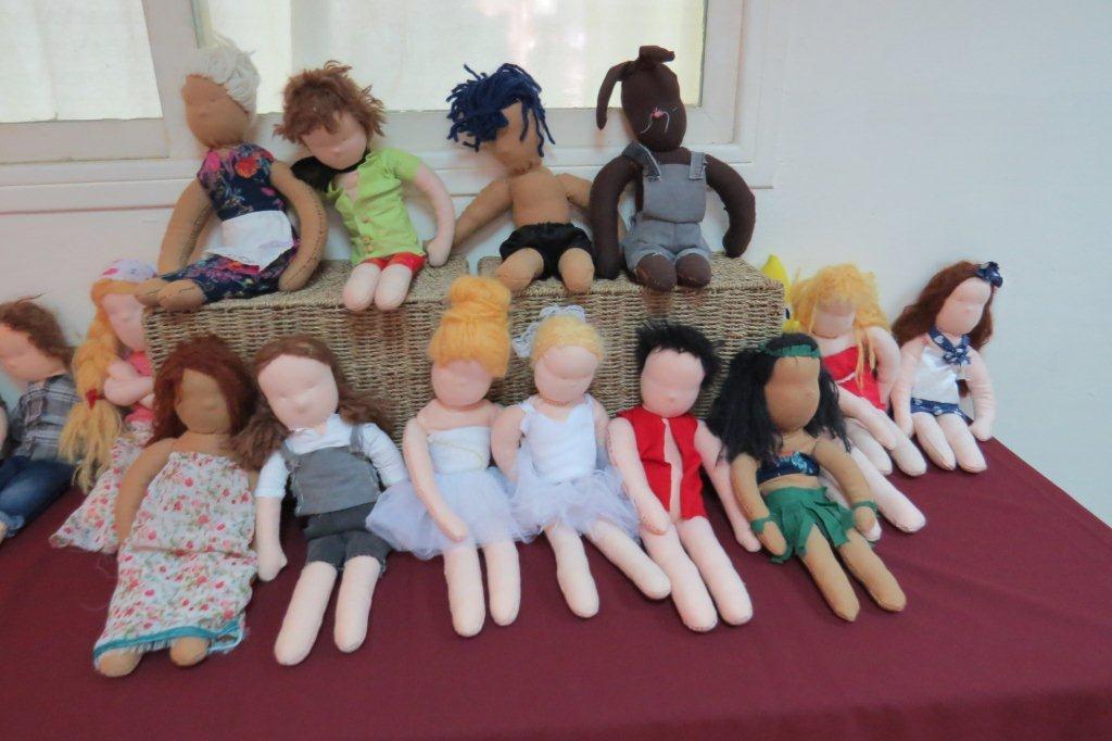 הכנת בובות