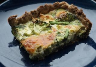 A very easy, quick and healthy Quiche