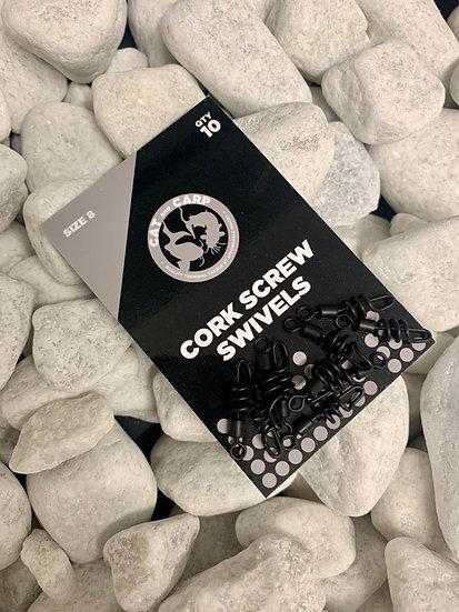 Corkscrew Swivels