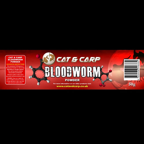 Bloodworm Powder Bait Additive