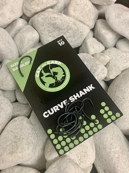Hooks Curve Shank Size 6 Barbless