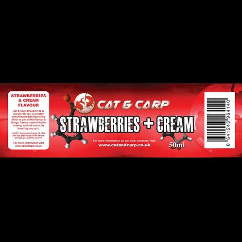 Strawberries & Cream Bait Flavour