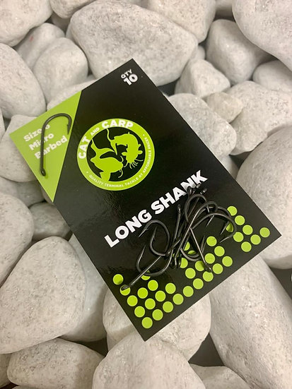 Hooks Long Shank Size 6 Micro Barbed