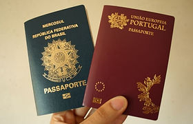 Passaporte Portugues e Brasileiro.jpg