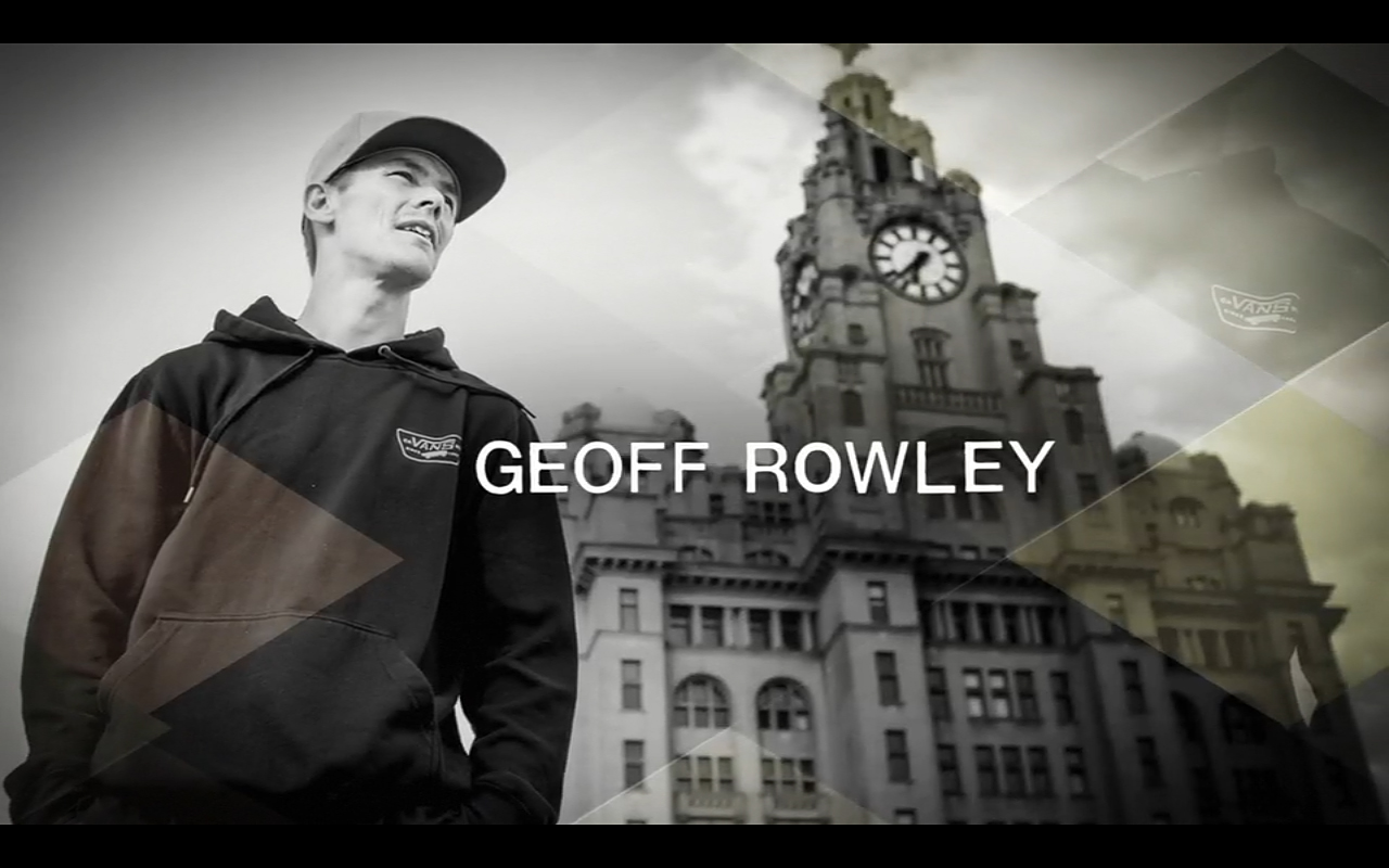 Geoff Rowley for Vans featured in Propeller.