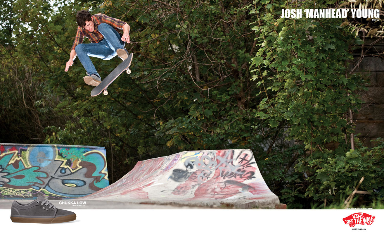 Josh Young for Vans published in Sidewalk Magazine