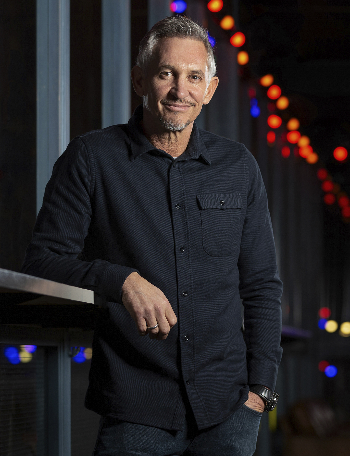 Gary Lineker, Shoreditch.
