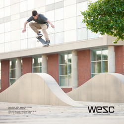Josh Young for WESC published in North Magazine.