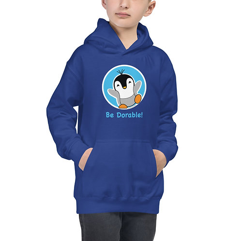 "Pauly Dorable ""Be Dorable"" Kids Hoodie"